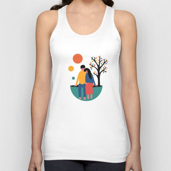 Always and forever Unisex Tank Top