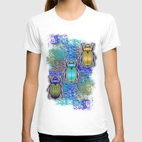 quilt T-shirts featuring Scarabs Quilt by Vannina