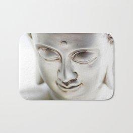 #Silver #big #Buddha #head and #wellness #stones Bath Mat