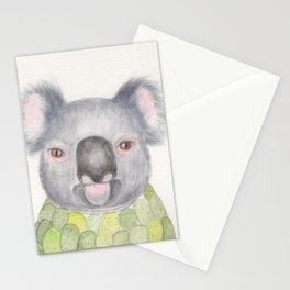 Christabelle the Koala Stationery Cards