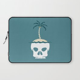 Skull Island – Blue Laptop Sleeve