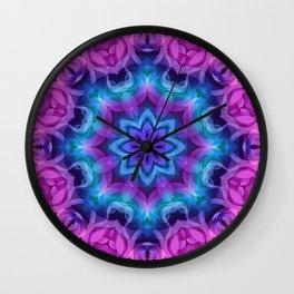 Floral Abstract G269 Wall Clock