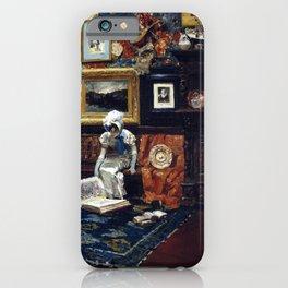 William Merritt Chase Studio Interior iPhone Case