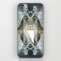 pi iPhone & iPod Skins featuring pi by Anna Pietrzak