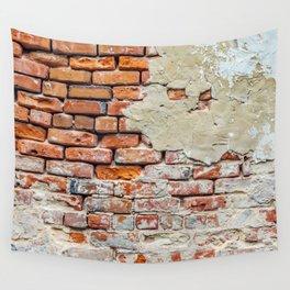 Old Brick Wall Wall Tapestry