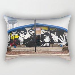 2007 Bowling Green Mural Rectangular Pillow