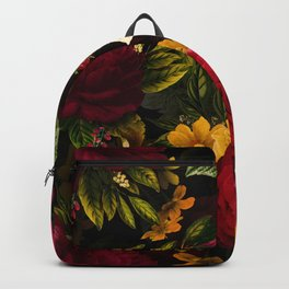 Mystical Night Roses Bouquet Backpack