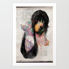 Broken n.4 Art Print