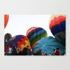 Hot-Air Balloon Canvas Print