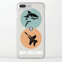 West Side Story - Alternative Movie Poster Clear iPhone Case