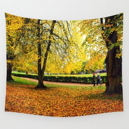 Colors of Autumn Wall Tapestry