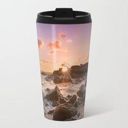 Splash of Sunset Travel Mug