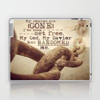 Chains are gone Laptop & iPad Skin