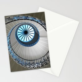 tulip staircase in london Stationery Cards