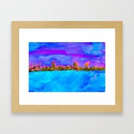 Surreal Abstract Landscape Framed Art Print
