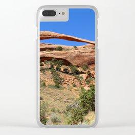Beautiful Landscape Arch Clear iPhone Case