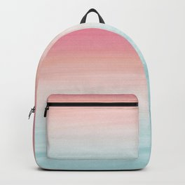 Touching Watercolor Abstract Beach Dream #1 #painting #decor #art #society6 Backpack