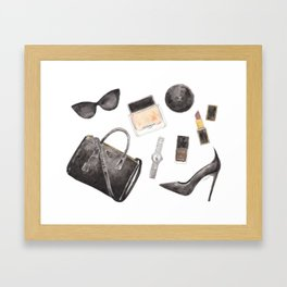 My Style Essentials n.1 Framed Art Print