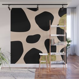 Golden exotics - Cow and soft tangerine Wall Mural