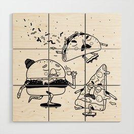 Name a better trio, I'll wait. Wood Wall Art