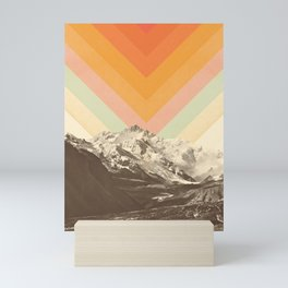 Mountainscape 2 Mini Art Print