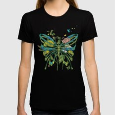 Lifeforms SMALL Black Womens Fitted Tee