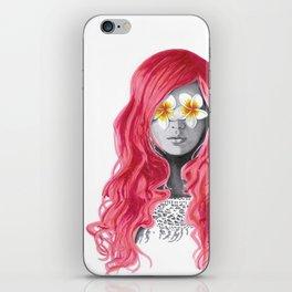 Flower Girl 5 iPhone Skin