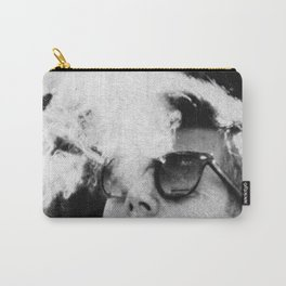 JFK Cigar and Sunglasses Cool President Photo Photo paper poster Carry-All Pouch