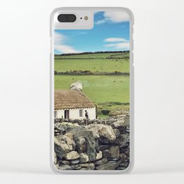 Thatched cottage, Ireland Clear iPhone Case