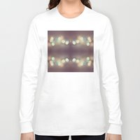 bokeh Long Sleeve T-shirts featuring Bokeh Bokeh Bokeh by Devin Stout