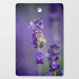 Lavender Bee Cutting Board