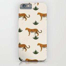 Big Cat Pattern iPhone Case