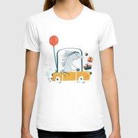 birthday T-shirts featuring Happy birthday! by Villie Karabatzia