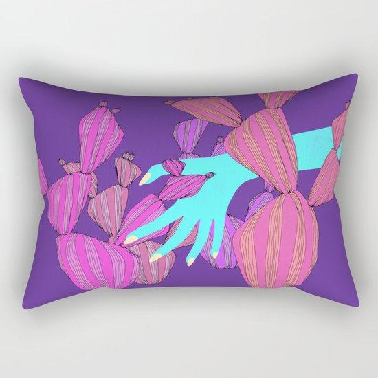 cold inside Rectangular Pillow