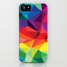 Color Shards iPhone SE Slim Case