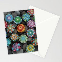 Mandala Stones multi Stationery Cards