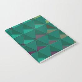 3D Futuristic GEO BG VI Notebook