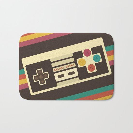 Retro Video Game 2 Bath Mat