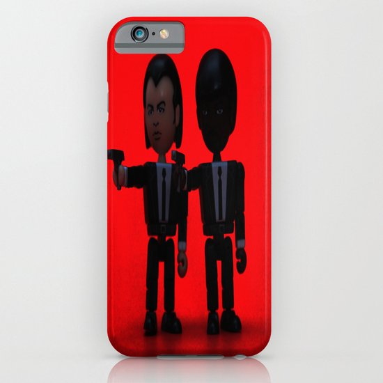 Toy Pulp Fiction iPhone & iPod Case