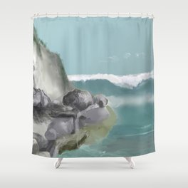 Adventures On A Sunday Afternoon Shower Curtain