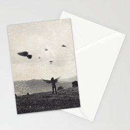 Like a bird Stationery Cards