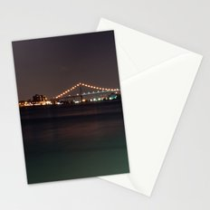 Bridge from Detroit to Canada Stationery Cards