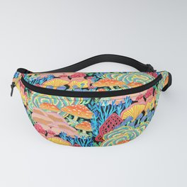 Fungi World (Mushroom world) - BKBG Fanny Pack