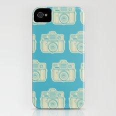I Still Shoot Film Holga Logo - Turquoise/Tan iPhone (4, 4s) Slim Case