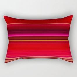 Red Leaf Plant Rectangular Pillow