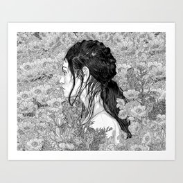 Love is in Beauty and Chaos Art Print