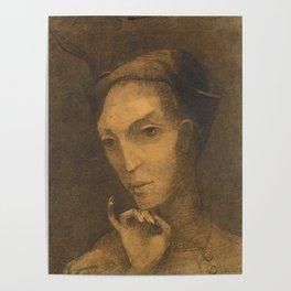 Mephistopheles by Odilon Redon, 1877 Poster
