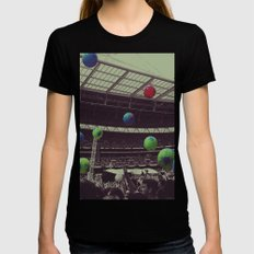 Coldplay at Wembley MEDIUM Black Womens Fitted Tee