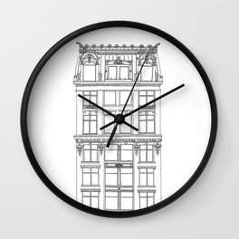 Don't Forget to Look Up (NYC Edition) Wall Clock