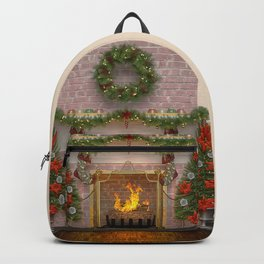 Christmas Hearth Backpack